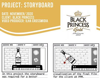 Black Princess Storyboard