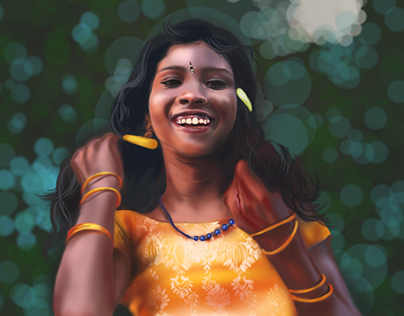 RADHIKA : Digital Painting
