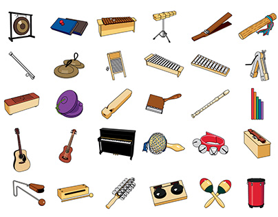 Musical Instruments - Illustration Collection