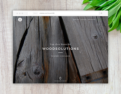 VDBWoodsolutions Logo & Web Design