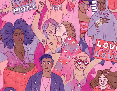 Lesbian Day of Visibility – Editorial Illustration