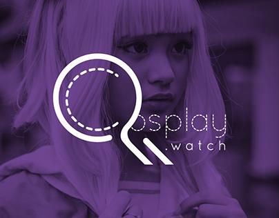 Cosplay Watch - Branding and Website Design