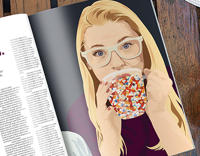 Editorial Illustration Nancy B. Design + Illustration