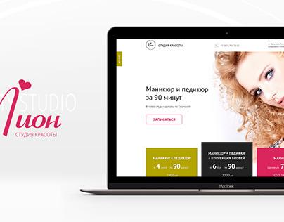 Website Beauty Salon Pion