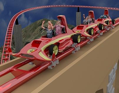 Ferrari Concept Roller Coaster
