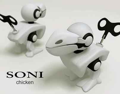 Wind-up toy 2006 | SONI Chicken