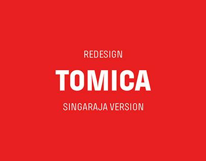 Tomica Logo Redesign