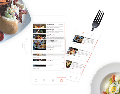 Foodo | Food Recipes App Design Concept