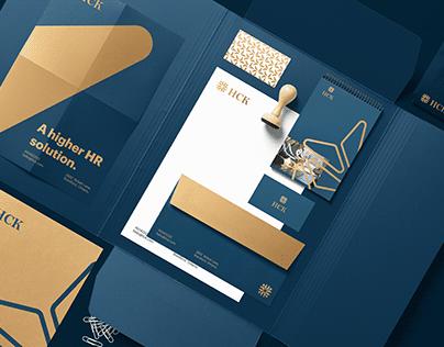 HCK brand design.