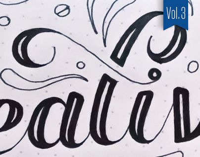 Hand-lettered Sketches – Vol. 3