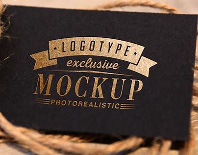 Vintage Logo Mock-up Set 1