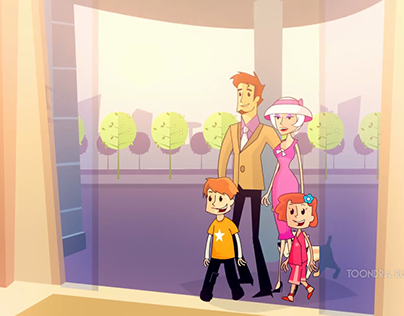 Apricot commercial animation