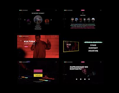Website for Kultura Nieponura