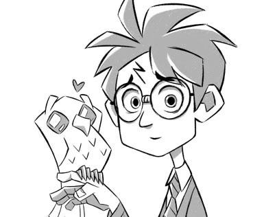 Inktober 2019 - Harry Potter