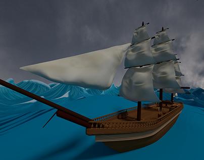 Moby Dick - Virtual Reality Environment
