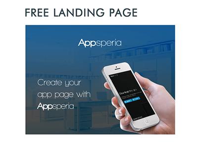 Appsperia - FREE App Landing Page