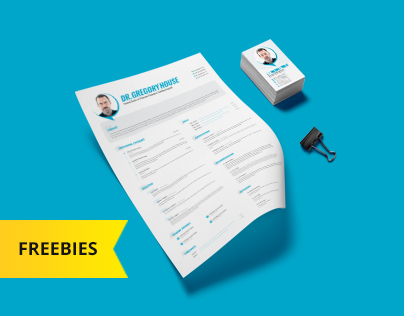 Free PSD Resume& Business Card