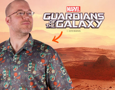 Guardians of the Galaxy - Lootcrate x MARVEL