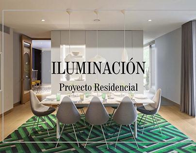 Iluminación Proyecto Residencial