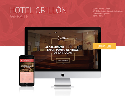 Hotel Crillon Website