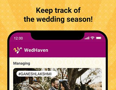 User Experience Design: WedHaven
