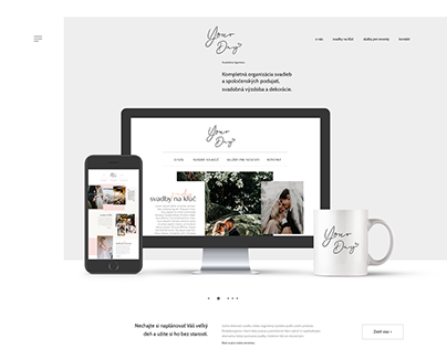 Your Day - Wedding Agency WEBSITE