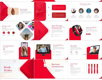 RED COMPANY INTRODUCTION POWERPOINT