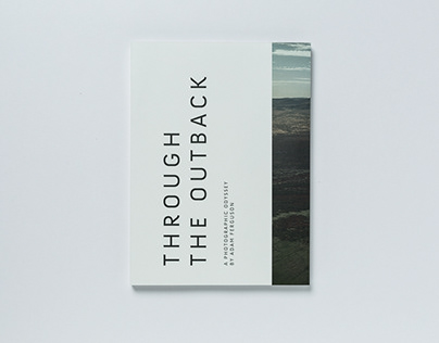 Through the Outback, Photobook Design