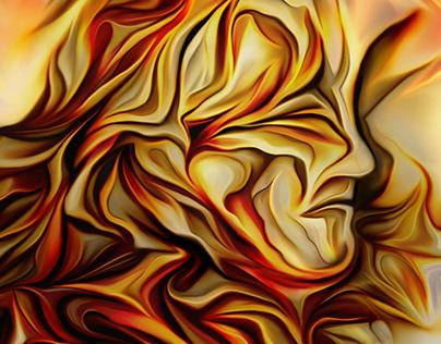 Metaphysical portrait of William Blake
