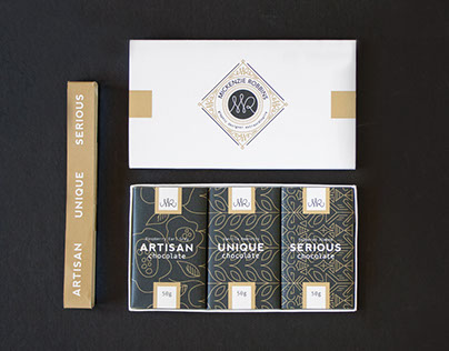 Self Promotional Chocolate Package
