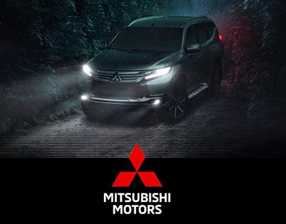 Mitsubishi México / Digital Compositions