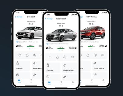 Honda Me App iOS