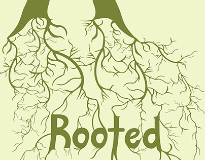 Rooted Typeface: Poster