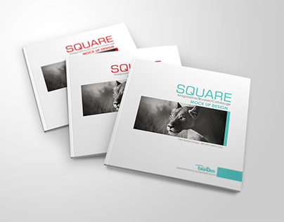Square Brusear free psd Mock Up