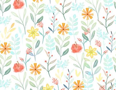 Plant Life Pattern