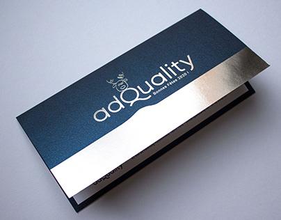 Carte de voeux, Motion design pour AdQuality
