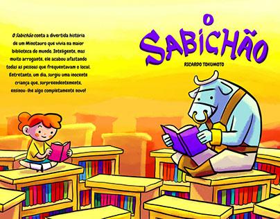 childrens book O SABICHAO