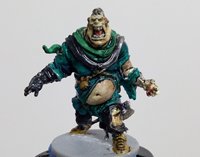 Model Painting - Zombicide Black Plague