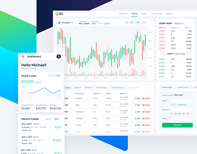 Crypto Trading Terminal — Product Design