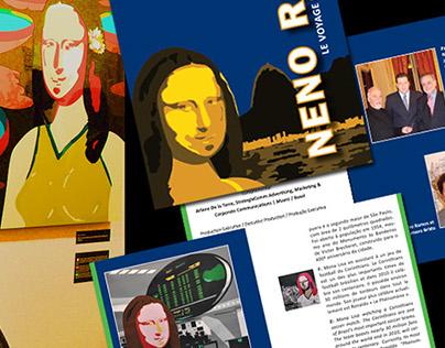 Voyage de Mona Lisa au Brésil - Exhibition