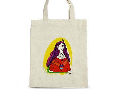 illustrations for eco bag
