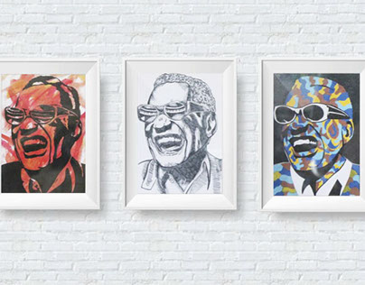 Portraits // Ray Charles