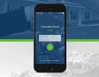 CaretakerBook iOS app (2014)