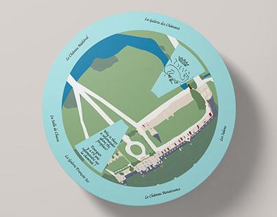 Château de Gizeux - Castle wheel packaging C. Obligis
