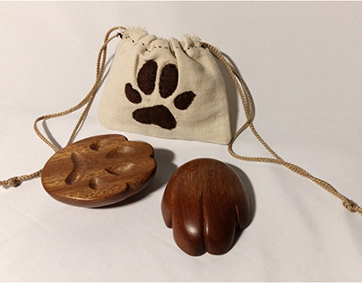 [Woodwork] The 'Paws' Divination Blocks