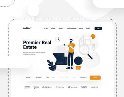 Real estate search portal