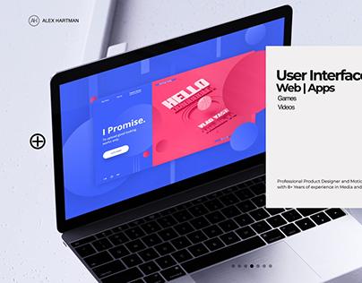 UI/UX Showreel