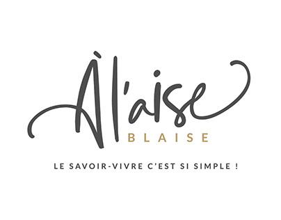 Logo et Site Internet A l'aise Blaise