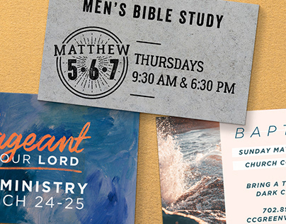 Church Ministry Graphics