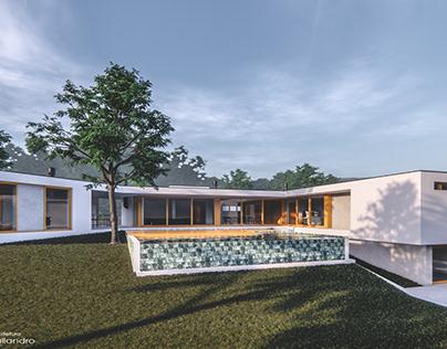 Projeto Arquitetônico   BIM   Residência C&C